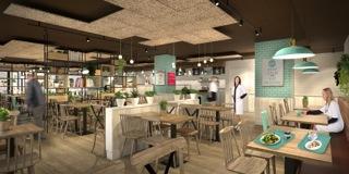 Cafetería hospitalaria Daily Break
