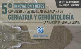 Geriatricarea Congreso Sociedad Valenciana de Geriatría y Gerontología