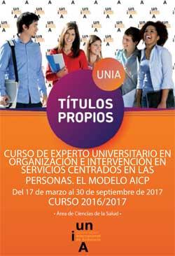 Geriatricarea Curso de Experto Universitario en Organización e Intervención en Servicios Centrados en las Personas