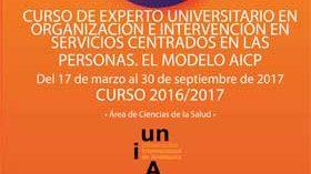 Curso de Experto Universitario en Organización e Intervención en Servicios Centrados en las Personas