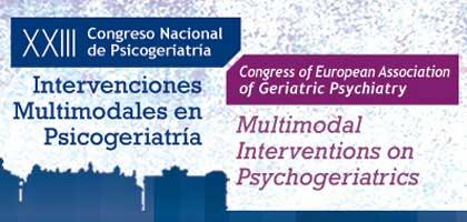 Geriatricarea Congreso Sociedad Española de Psicogeriatría