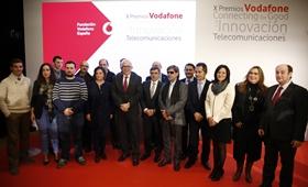 La Fundación Vodafone España entrega los X Premios a la Innovación en Telecomunicaciones