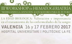 Geriatricarea Workshop Hematogeriatría GEHEG