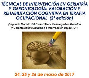 Geriatricarea APETO Tecnicas de Intervencion en Geriatria y Gerontologia Terapia Ocupacional