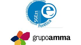 Amma obtiene el certificado SGE 21 de empresa socialmente responsable