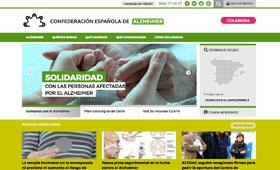Geriatricarea CEAFA Confederación Española de Alzheimer nueva web
