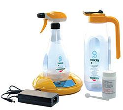 Geriatricarea Toucan Eco higiene y desinfección