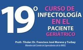 La Asociación Mexicana de Gerontología y Geriatría imparte el 19º Curso de Infectología en el Paciente Geriátrico