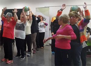 geriatricarea proyecto ACTIVA ejercicio fisico envejecimiento activo