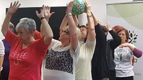 El proyecto ACTIVA apuesta por el ejercicio físico adaptado para un envejecimiento saludable