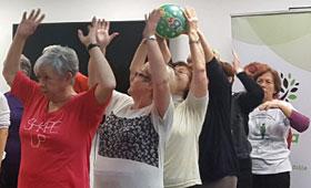 geriatricarea proyecto ACTIVA ejercicio físico envejecimiento activo