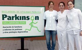 Geriatricarea Asociación de Parkinson de Villarrobledo discapacidad