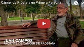 """""""Cáncer de próstata en primera persona"""""""