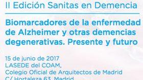 La II Edición Sanitas en Demencia se centrará en los Biomarcadores del Alzheimer y otras demencias