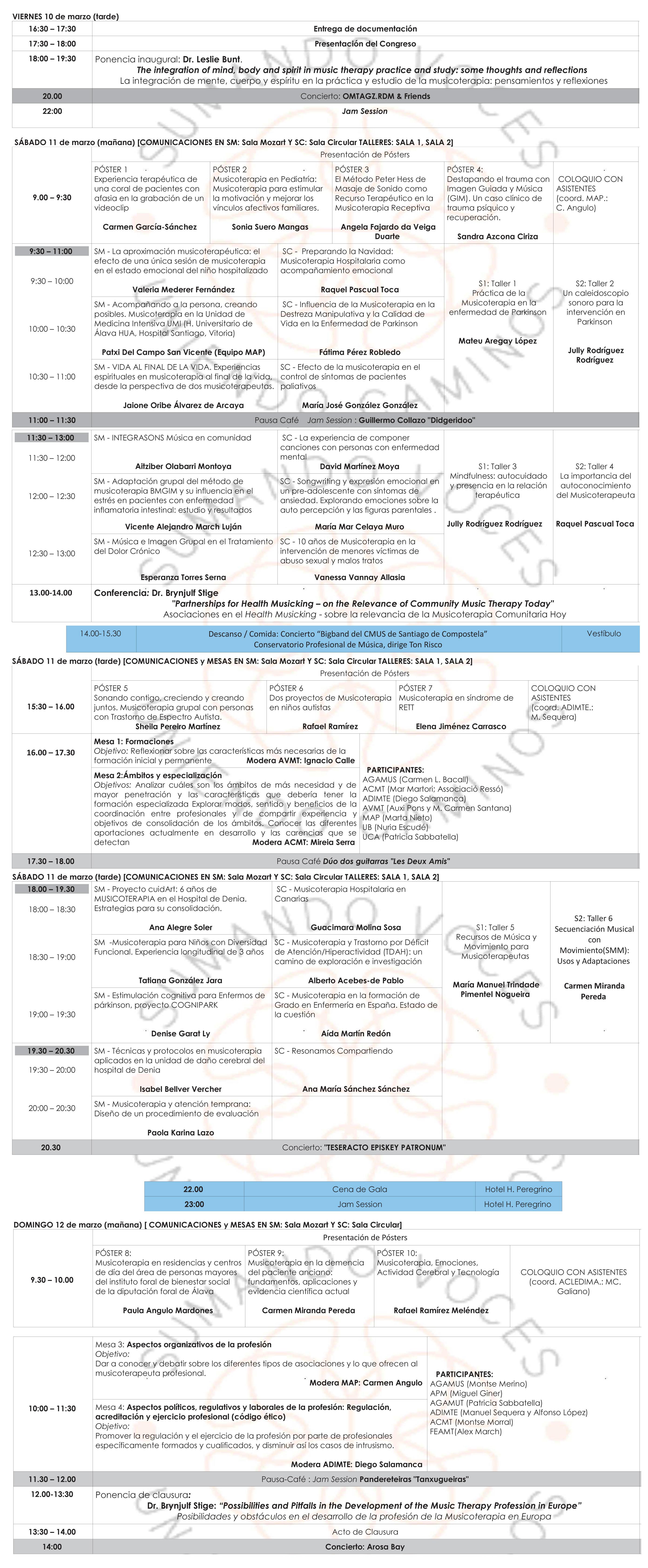 geriatricarea Congreso Nacional de Musicoterapia