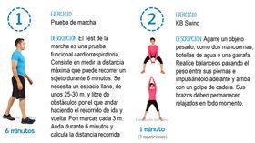 Cuatro sencillos ejercicios para prevenir el riesgo cardiovascular