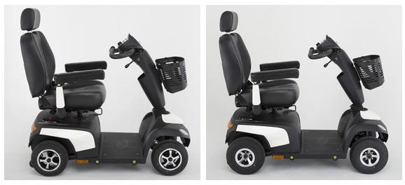 geriatricarea scooters Orion Invacare