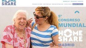 Madrid acoge en mayo el Congreso Mundial de Homeshare