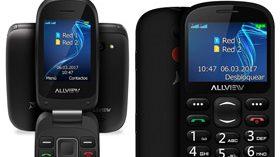 Allview presenta dos móviles de fácil uso especialmente diseñados para personas mayores