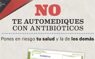 Campaña de recogida de antibióticos para evitar el riesgo de automedicación