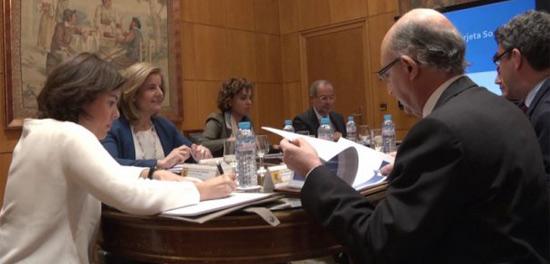 geriatricarea reunión tarjeta social