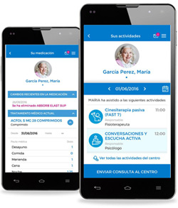 geriatricarea App Familias de Sanitas Mayores