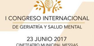 Todo listo para el I Congreso Internacional de Geriatría y Salud Mental