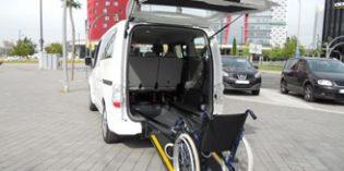 ILUNION presenta el primer coche eléctrico de España adaptado para personas con movilidad reducida