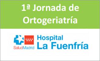 geriatricarea Jornada de Ortogeriatría Hospital La Fuenfría