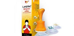 LifeVac, un innovador dispositivo de emergencia para evitar atragantamientos