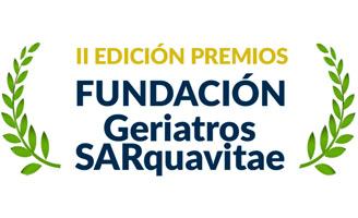 geriatricarea Premios Fundacion Geriatros SARquavitae