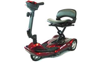 Easy Move: un scooter urbano con plegado eléctrico y mando a distancia