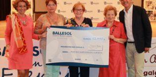 Los residentes de Ballesol recaudan 12.440 euros para ayudar a niños y jóvenes enfermos de cáncer