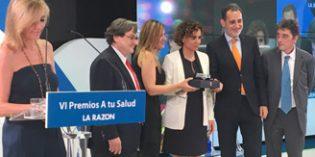 """Amavir logra el Premio """"A Tu Salud"""" de La Razón en el ámbito sociosanitario"""