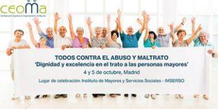 CEOMA abordará en unas jornadas el abuso y maltrato a las personas mayores