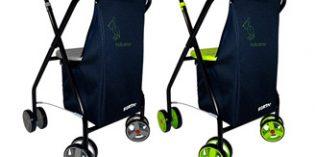 Cómodos andadores equipados con una bolsa de gran capacidad