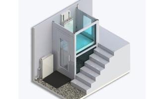 geriatricarea LV3 plataforma vertical LV-Lift