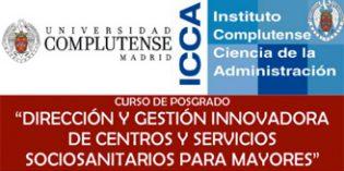 Un posgrado que apuesta por la gestión innovadora de centros y servicios para mayores