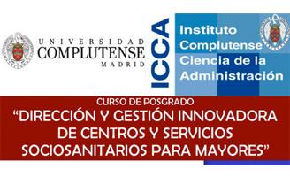 geriatricarea Posgrado de Dirección y Gestión Innovadora de Centros y Servicios Sociosanitarios para Mayores