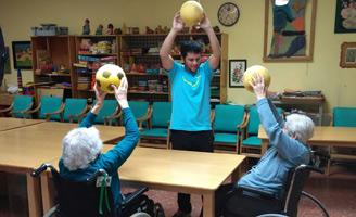 geriatricarea entrenamiento multicomponente envejecimiento activo Siel Bleu