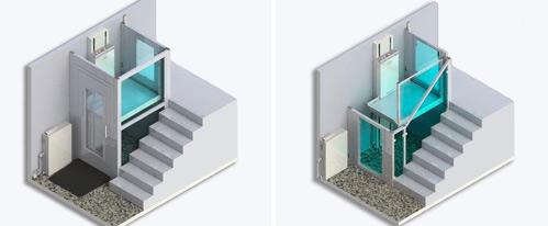 geriatricarea plataforma vertical LV-Lift LV3