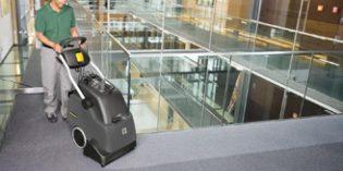 Limpiadora automática para una perfecta y rápida limpieza de alfombras y moquetas
