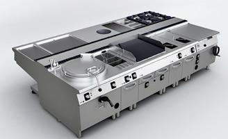 Geriatricarea cocina industrial 900 KORE Fagor Industrial