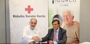 Voluntarios de Cruz Roja Bizkaia acompañarán y apoyarán a los mayores de los centros Igurco