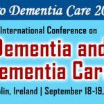 Dublín acoge en septiembre la Conferencia Internacional Euro Dementia Care 2017