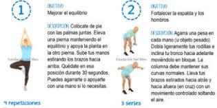 Cuatro sencillos ejercicios para favorecer la autonomía personal de los mayores