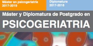 El Máster y Diplomatura de Postgrado en Psicogeriatría alcanza su vigésima edición