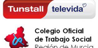 Tunstall Televida y el Colegio de Trabajo Social de Murcia firman un convenio de colaboración