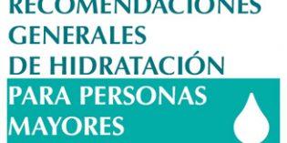 42 centros de mayores participan en la campaña de hidratación de Fundación Edad&Vida