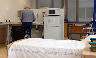 geriatricarea sala de terapia ocupacional